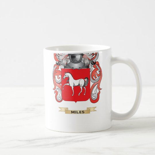 Miley Coat of Arms (Family Crest) Coffee Mug