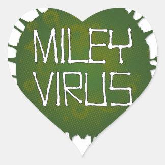 Miley Virus Heart Sticker