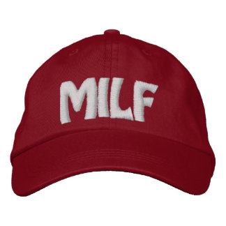 MILF - Customized Embroidered Baseball Hat