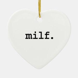 milf. ornamentos de navidad