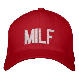 MILF EMBROIDERED BASEBALL HAT