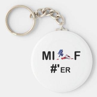MILF#er Keychain