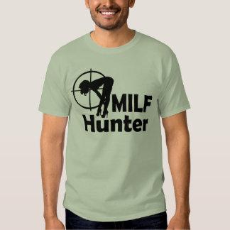MILF Hunter (black text) Tshirts