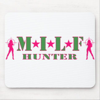 MILF HUNTER MOUSE PAD