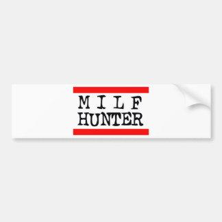 Milf Hunter -- T-Shirt Bumper Sticker