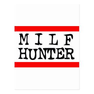 Milf Hunter -- T-Shirt Post Card