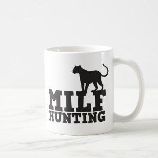 milf hunting coffee mug