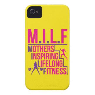 MILF - Mothers Inspiring Lifelong Fitness iPhone 4 Case
