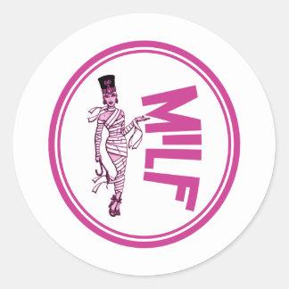MILF Mummy Pink Sticker