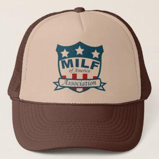 Milf Of America Association Trucker Hat