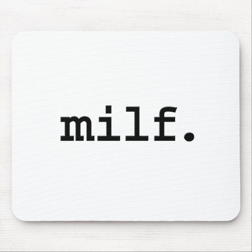 milf. tapete de raton