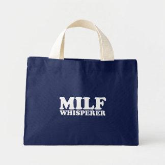 Milf Whisperer Canvas Bags