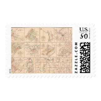 Milford, Brock's Gap, Moorefield, New Creek, etc Postage