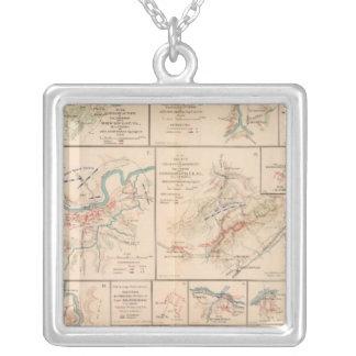 Milford, Brock's Gap, Moorefield, New Creek, etc Silver Plated Necklace