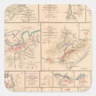 Milford, Brock's Gap, Moorefield, New Creek, etc Square Sticker