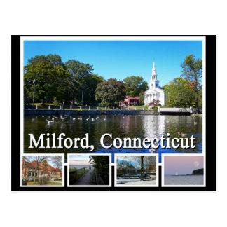 Milford Connecticut Multiview Tarjetas Postales