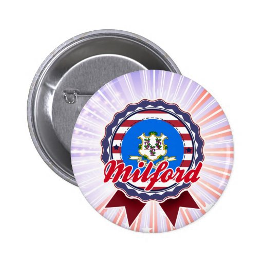 Milford, CT Button