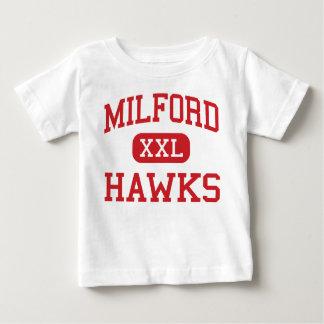 Milford - halcones - alto - Milford Massachusetts Camisetas