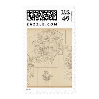 Milford, Hollis, Hillsborough Postage Stamps
