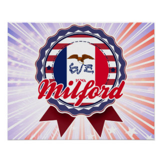 Milford IA Poster