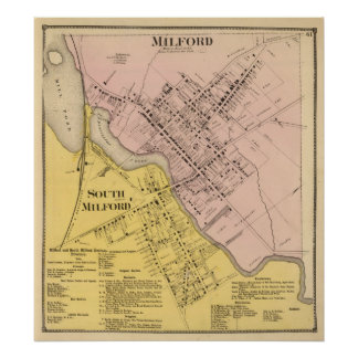 Milford Milford del sur Poster