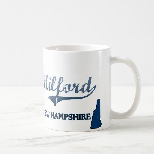 Milford New Hampshire City Classic Coffee Mugs