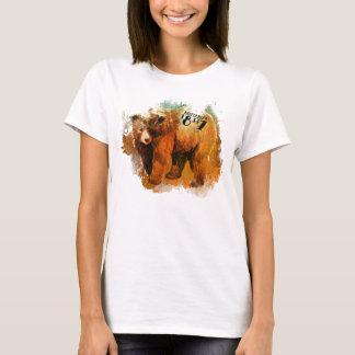 Milford PA 18337 Colorful Bear Design T-Shirt