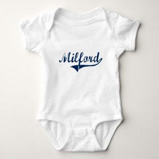 Milford Pennsylvania Classic Design Baby Bodysuit
