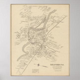 Milford PO Print
