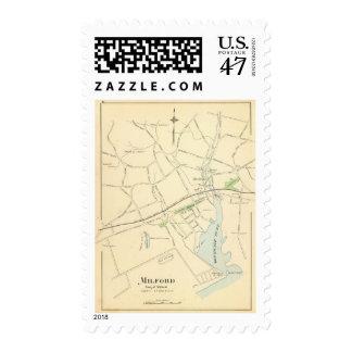 Milford Postage Stamp