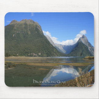 Milford Sound Bay, Mitre Peak, New Zealand Mouse Pad
