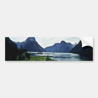 Milford Sound, Fiordland National Park Bumper Stickers