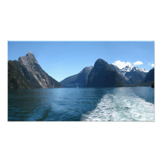 Milford Sound, Fiordland, New Zealand Photo Print