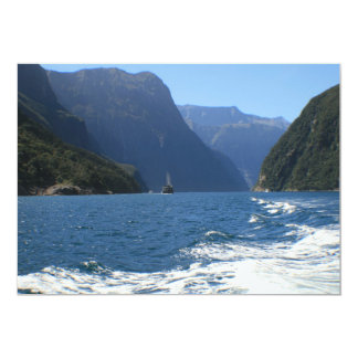 Milford Sound, New Zealand Card