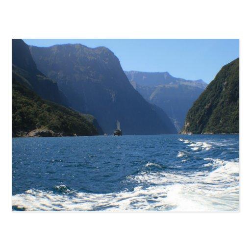 Milford Sound, New Zealand Postcard