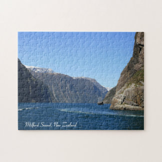 Milford Sound, New Zealand - Puzzle