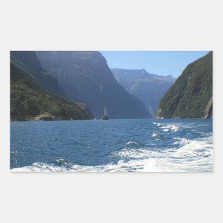 Milford Sound, Nueva Zelanda Rectangular Altavoz