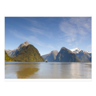 Milford Sound Panorama 1 Postcard