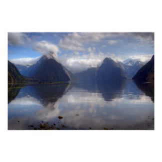 Milford Sound Poster