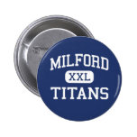 Milford Titans Middle Milford New Hampshire Pinback Button