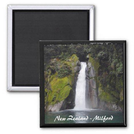 Milford Trek, New Zealand (Fridge Magnet)