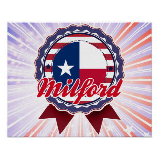 Milford TX Poster