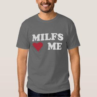 """MILFS """"HEART"""" ME T-Shirt"""