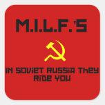 MILFS - Russia Sticker