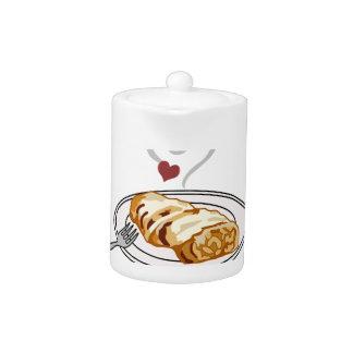 Milhojas de Apple quebradizos