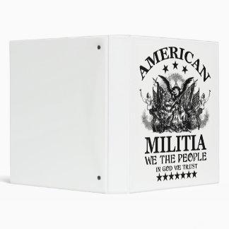 "Milicia americana carpeta 1"""