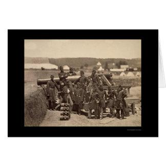 Milicia del Estado de Nuevo York, fuerte Corcran, Tarjeta De Felicitación