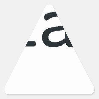 milifandom pegatina triangular