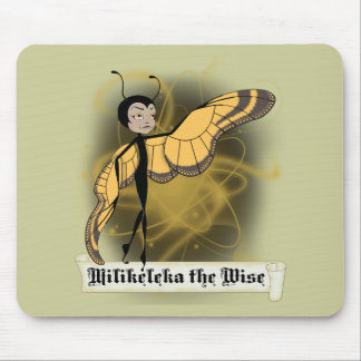 Milikeleka the Wise Mouse Pads