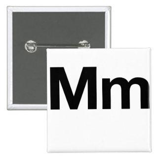 Milímetro Helvética Pin